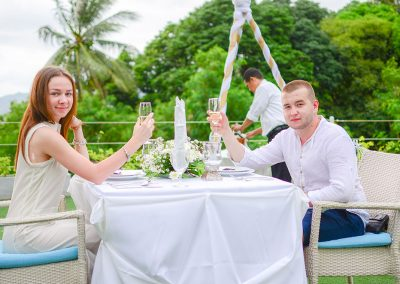 Dinner Cannacia Phuket